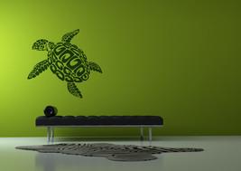 Sea Turtle 2 Feet Wide Vinyl Wall Art - $24.95