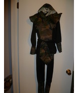 CHILD CAMMOED NINJA HALLOWEEN COSTUME SIZE MEDIUM - $17.50