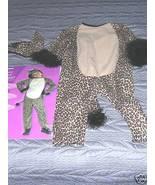 CHILD SIZE 1 - 2 SNOW LEOPARD HALLOWEEN COSTUME - $15.00