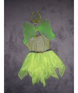 DISNEY STORE TINKERBELL HALLOWEEN COSTUME SIZE ... - $27.50