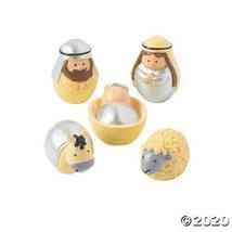 Mini Round Nativity Set - $16.60