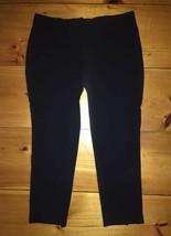 ANN TAYLOR Career Casual Dress Pants Black Sz 12 EUC! - $19.99