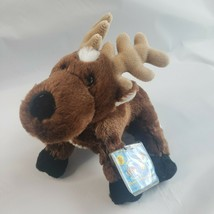 New Webkinz Reindeer HM137 Seasonal  Sealed Unused Codes Attached To Plush - $9.99