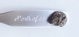 Collector Souvenir Spoon Canada Manitoba Thompson Mining Nugget - $6.99