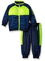Reebok Boys' Tricot Set,QBH54271, Indigo Blue, Size 24Months, MSRP $48 - $27.71