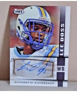 LEE DOSS 2014 SAGE HIT AUTHENTIC AUTOGRAPH CARD CLEVELAND BROWNS SOUTHER... - $3.75