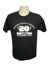 2019 Boston Comedy Festival 20 Years Adult Medium Black TShirt - $19.80