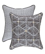 TreeWool, (Pack of 2) Foil Printed Swirl 2-in-1 Accent Throw Pillow Cove... - $19.99
