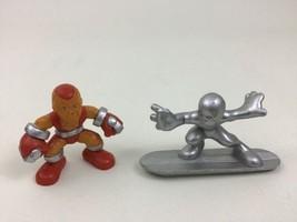 Super Hero Squad Lot of 2 Shocker & Silver Surfer Action Figures Marvel - $14.80