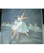 Ria Loederer-Ballet In Dance-Soft Pastel Colored Lithograph  - $58.00