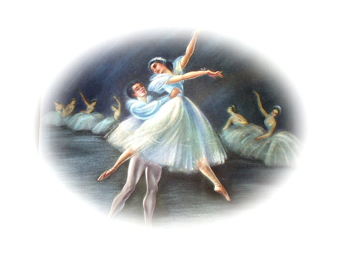 Ria Loederer-Ballet In Dance-Soft Pastel Colored Lithograph