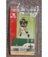 McFarlane NFL New Orleans Saints Reggie Bush 3 inch Figure New In The Pa... - $17.99