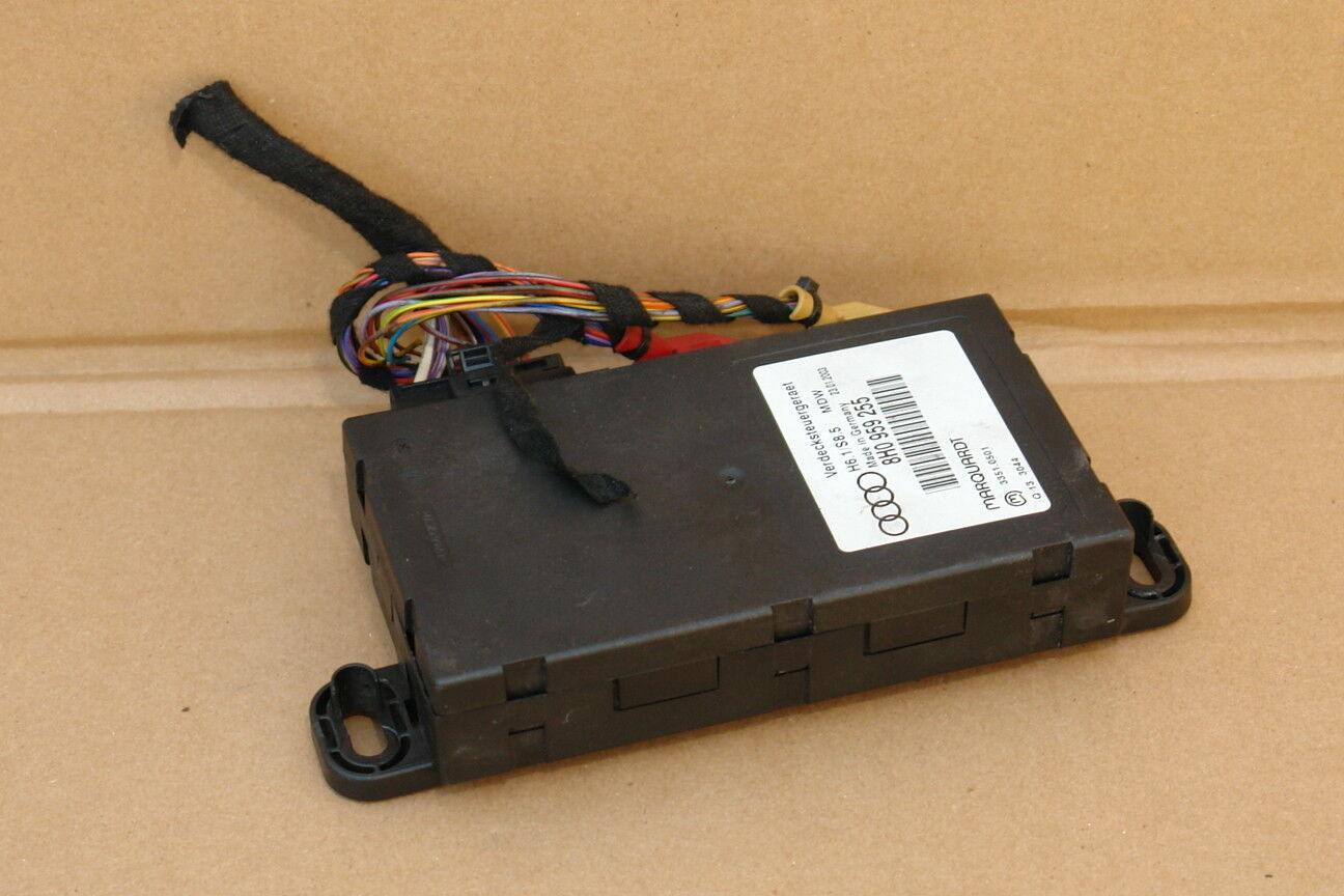 Audi A4 RS4 S4 Cabriolet Convertible Roof Top Control Module Computer 8H0959255