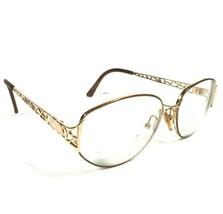 Christian Dior Gold Webbed Round Circular Eyeglass Frames CD2925 44C 54 15 130 - $112.20