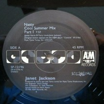 JANET JACKSON - NASTY U.S. 12 INCH SINGLE RECORD 1986 2 TRACKS - £5.57 GBP