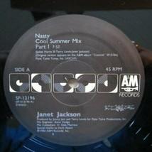 JANET JACKSON - NASTY U.S. 12 INCH SINGLE RECORD 1986 2 TRACKS - $135,19 MXN