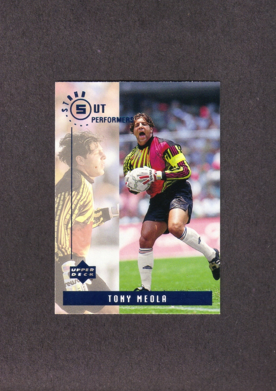 1994 Upper Deck Tony Meola Stand Out Performers