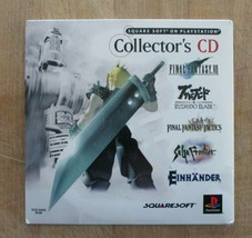 Square Soft on PlayStation Collector's CD Demo/Video Disc PS1 - $19.79