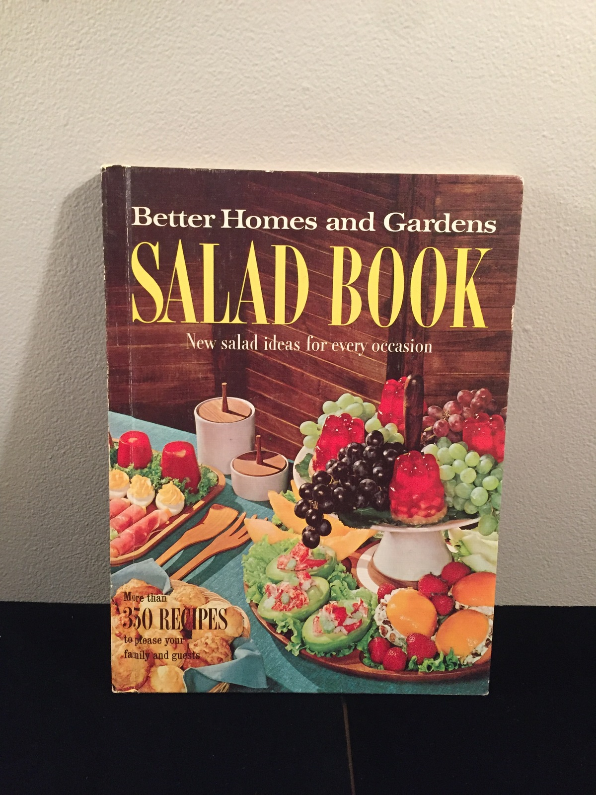 Vintage 1967 Better Homes and Gardens Salad Book Cookbook- hardcover