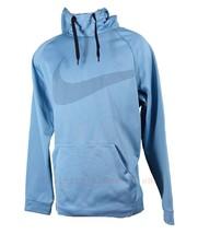 Nike Therma Training Hoodie Cerulean Blue 905653 New Large - $42.74