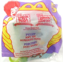 McDonald's Disney PIGLET Soft Happy Meal Toy #5 NIP Hang From Backpacks & More - $4.99