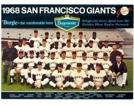 1968 SAN FRANCISCO GIANTS 8X10 TEAM PHOTO BASEBALL PICTURE MLB - $3.95