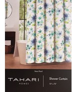 Tahari Neva Floral Blue/Turquoise/Green/White Shower Curtain - $38.00