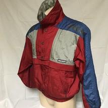VTG Descente Racing Team Ski Jacket Colorblock 80s Coat Winter Sport Sur... - $59.99
