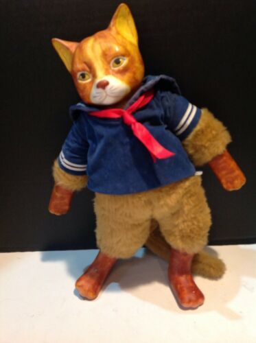 Primary image for Gordon Frazers Gallery Schmid Wind Up Musical Porcelain And Stuffed Cat