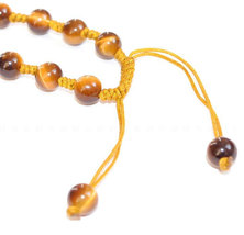 Free Shipping - good luck 100% Natural Yellow Tiger eye stone carved Pi Yao Amul image 3