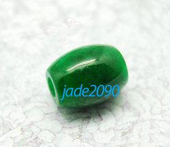 FREE SHIPPING - AAA Grade Natural green jade beads luck ball jade charm pendant  - $19.99