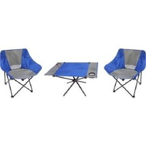 Camping Table and Chair Set Ozark Trail 3-Piece Portable - $33.12