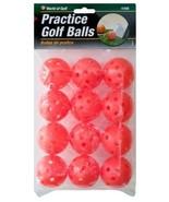 Practice Golf Balls Orange Set of 12 Durable Golf Balls - $8.86