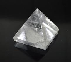 "AAA Grade Nirvana Crystal Clear Quartz Pyramid Reiki Healing Chakra Approx 2"" Ge - $34.99"