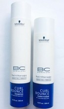 Schwarzkopf Bonacure Hairtherapy Curl Bounce Shampoo 8.5 oz & Conditioner 6.8oz - $15.99