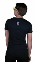 Diamond Supply Co Solid Navy L Large Ben Baller Un-Polo V-Neck Sexy Shirt Top