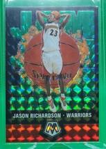 2019-20 Panini Mosaic Jam Masters Mosaic Green #10 Jason Richardson - $4.94