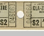 Bowling green cla zel theatre ticket  2 pair thumb155 crop