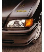 1997 Toyota TERCEL HAWK EDITION brochure catalog Black Red - $7.00