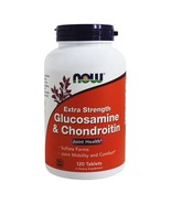 NOW Foods Glucosamine and Chondroitin Extra Strength, 120 Tablets - $33.55
