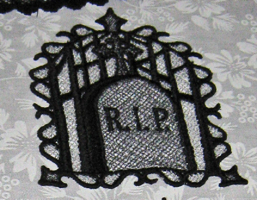 Six Halloween Decorations hang them or use as coasters - Large Halloween Ornaments