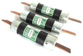 LOT OF 3 BUSSMANN NON-80 ONE TIME FUSES 80AMP 250V NON80 image 2