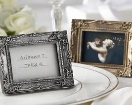 150 Gold Antique Finish Work of Art Wedding Place Card Holder Photo Fram... - $205.20