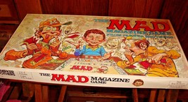 Vtg Mad Magazine  Board Game Parker Brothers 1979  Complete - $28.04