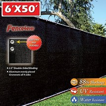 Fence4ever Privacy Windscreen Aluminum Grommets - $47.99