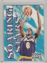 1997-98 Fleer Soaring Stars #8SS Eddie Jones Los Angeles Lakers - $1.00