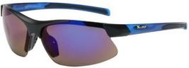 2 Pc Half Frame Mens Mirrored Lens Wrap Around Sport Cycling Baseball Sunglasses - $13.99