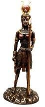 Ebros Egyptian Goddess Of Motherhood Music And Dance Hathor Statue Bronz... - $39.59