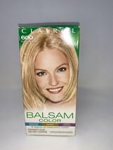 Clairol Balsam Womens Permanent Blonde Hair Dye 600 Palest Blonde In Box - $7.91