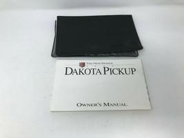 1995 Dodge Dakota Owners Manual with Case OEM Z0A0458 - $29.69